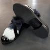 Bild von Siton Loafer schwarz mit Fell
