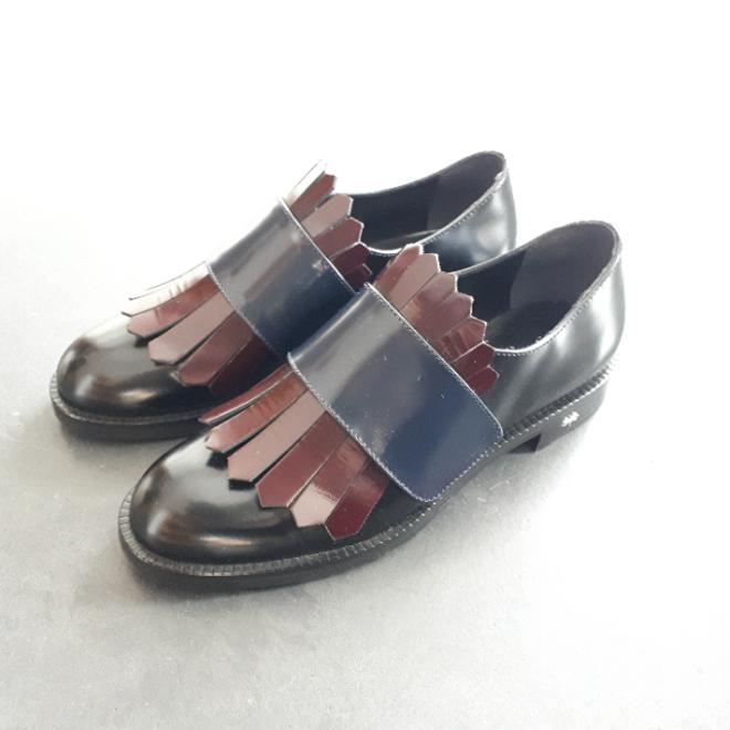 Bild von Siton Loafer schwarz, bordeaux , blau