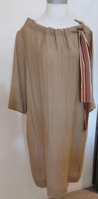 Bild von EETE Sommerkleid cognac